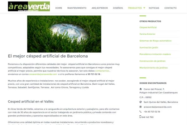 cesped artificial barcelona